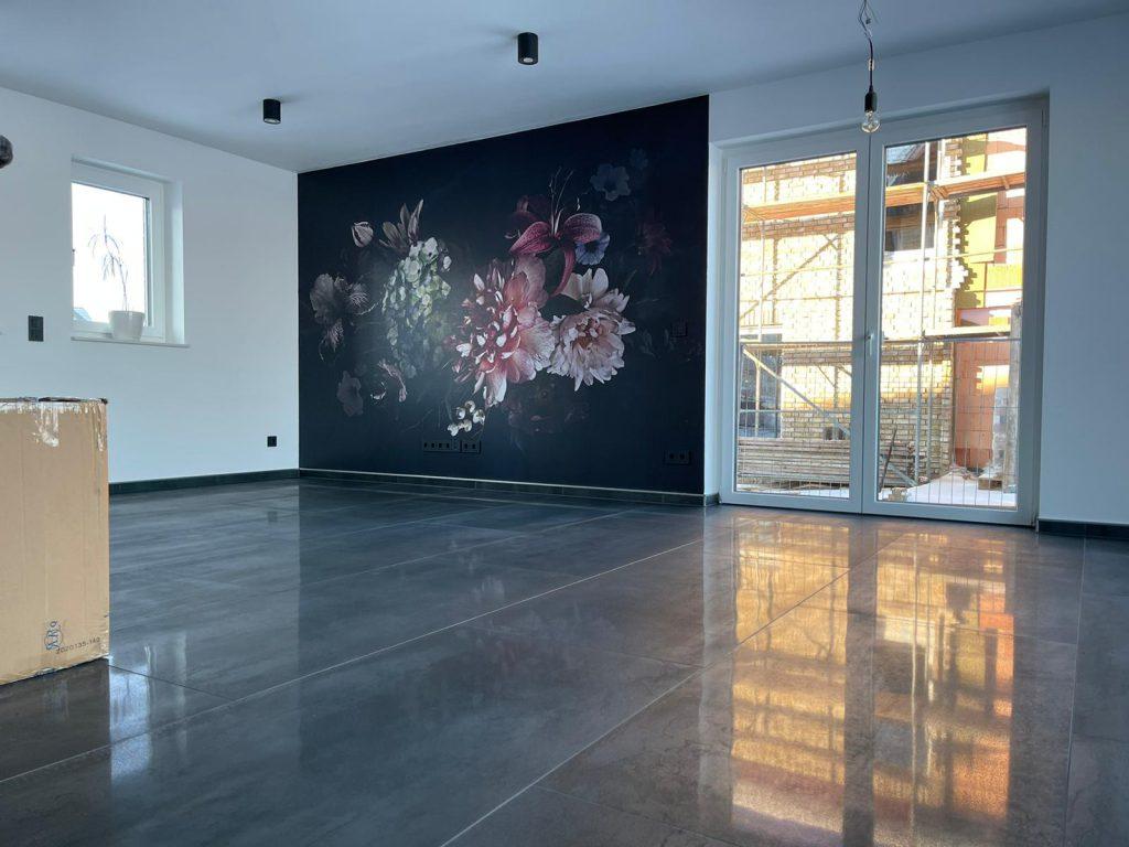 Großformat Fliesen, Komplettes Erdgeschoss mit Marazzi 150*75cm Fliesen…