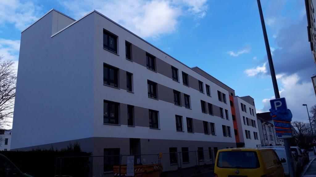 Neubau Altenpflegeheim in Magdeburg, Umfassungsstr.