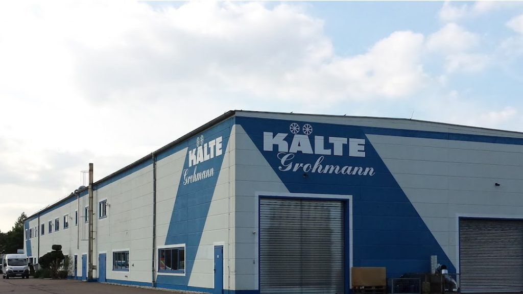 Kälte Grohmann GmbH- Sanierung Sozialtrakt